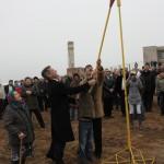 Пуск газа с.Цветное 24.12.2010г