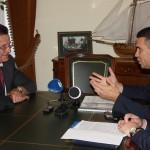 Анатолий Еркулов и Александр Жилкин обсудили перспективы газификации Астраханской области