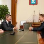Алексей Миллер и Александр  Жилкин обсудили перспективы газификации