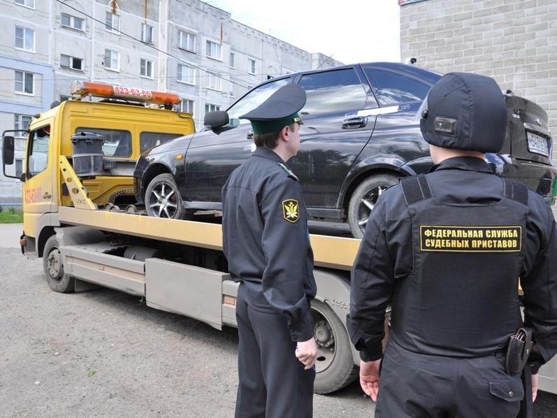 Арест автомобиля судебными пристовами